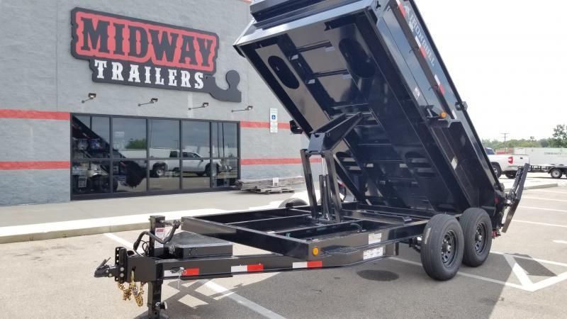 2022 Iron Bull 7'X14' LOW PRO DUMP 14K Dump Trailer