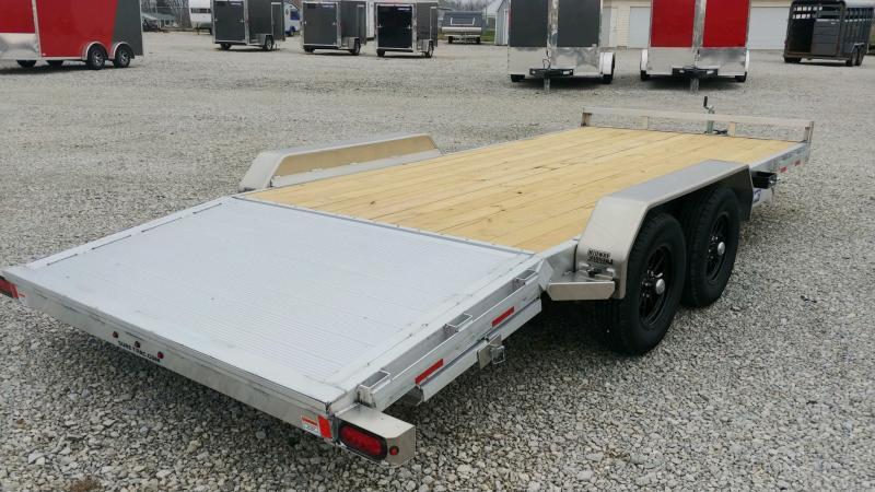 2021 Sure-trac 7'x18' Car Hauler 7k Alum Car Hauler Trailer