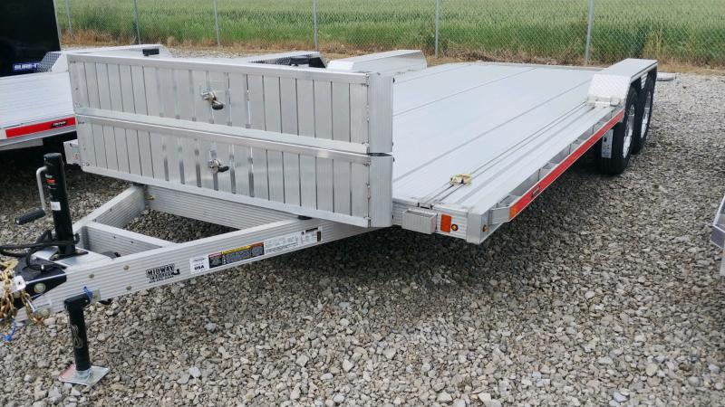 2022 Triton 7 X 18 Alum Ch 7k Car Hauler Trailer