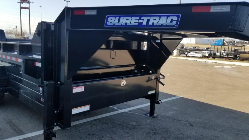2021 Sure-trac 7'x14' Gn Tele 14k Dump Trailer