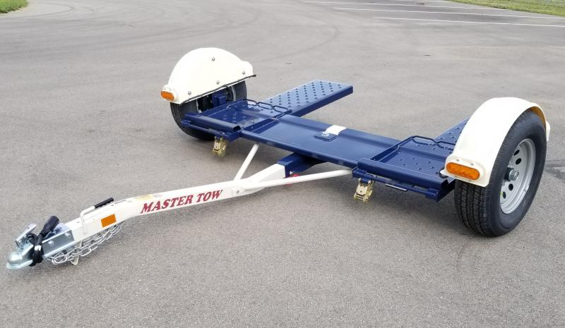 """2020 Master Tow 80"""" Electric Brake Tow Dolly 3k Car Dolly"""