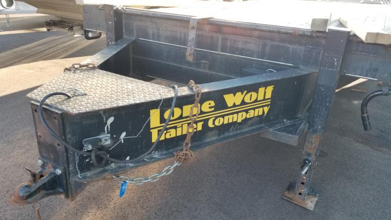2011 Lonewolf 8.5'x20'+4' Tri-axle 21k Deck Over Trailer