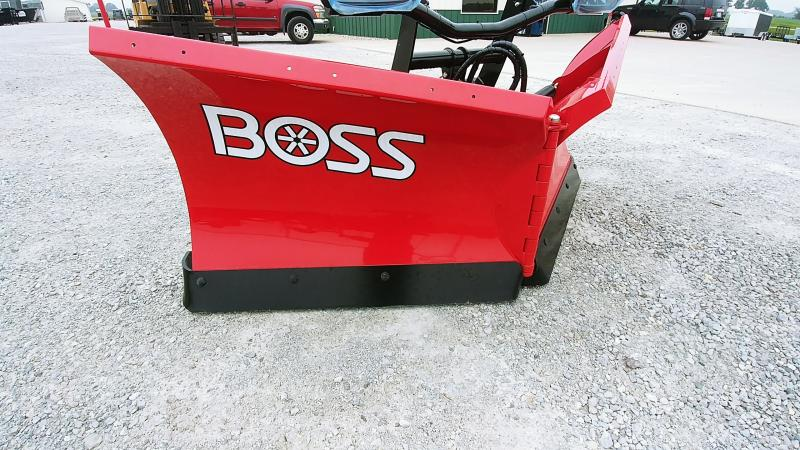 "2019 Boss 8'2"" Vxt Plow Steel Snowplow"
