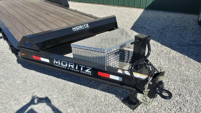 2021 Moritz 7'x20' Ar 16k Equipment Trailer