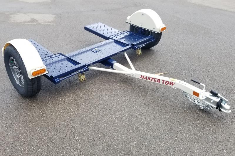 "2021 Master Tow 80"" Idler Hub 3k Car Dolly"