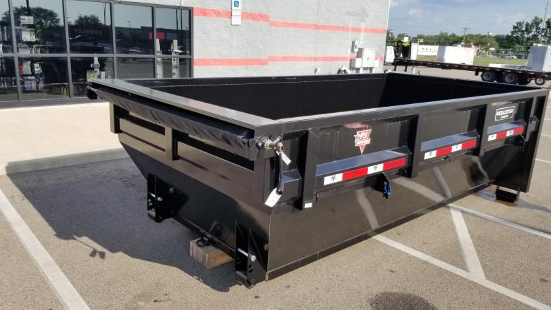 2022 PJ Trailers 7'X14' DUMP BIN Dump Trailer