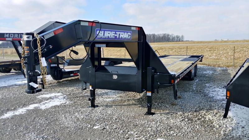 2021 Sure-trac 8.5'x22'+10' Deckover 22.5k Hydro Dove Gn Deck Over Trailer