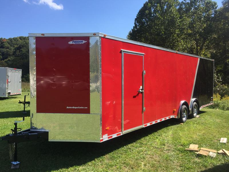 2021 Freedom Trailers 8.5x28TA3 Enclosed Cargo Trailer