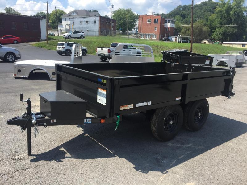 2021 Carry-On 6X10 DECK OVER 7K Dump Trailer