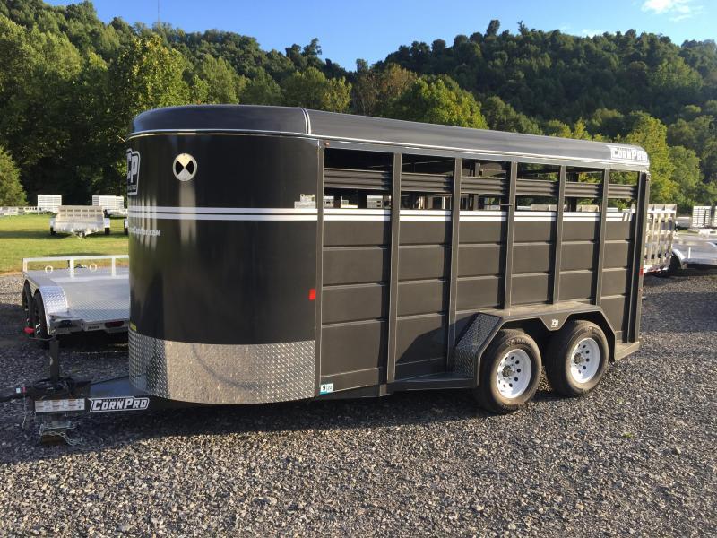 2021 CornPro Trailers SB-16 6S Livestock Trailer