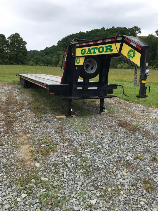 Used Gooseneck Flatbed Trailers for sale   Flatbed ...