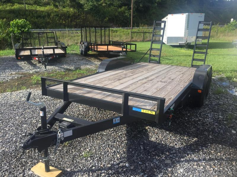 2021 Carry-On 7X16HDEQDTFR Equipment Trailer