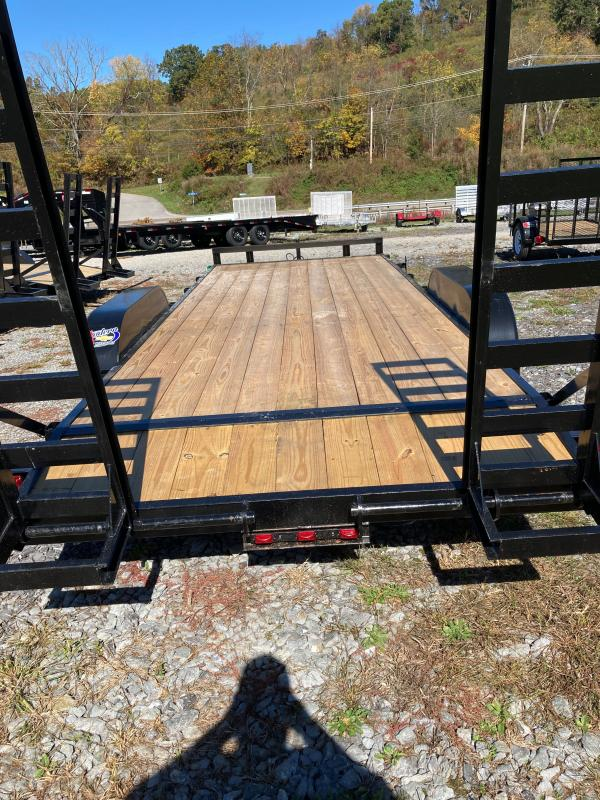 2020 Carry-On 7X20HDEQDTFR Equipment Trailer