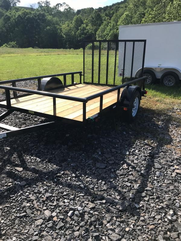 2020 Carry-On 6x10GW pipe top w/tailgate