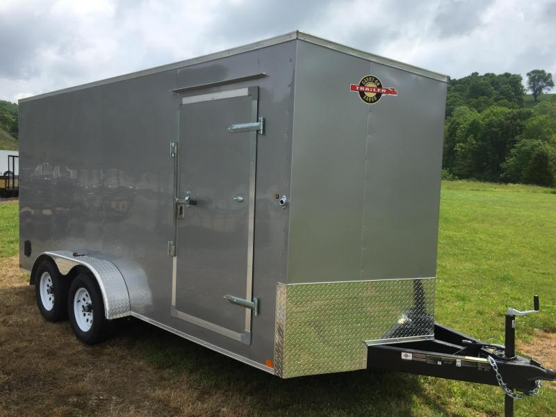 2020 Carry-On 7X16CGRCM Enclosed Cargo Trailer