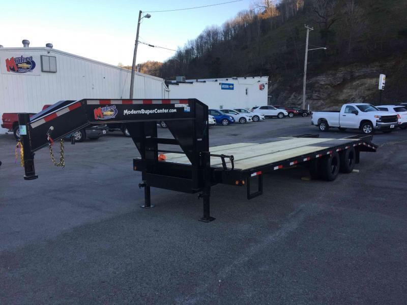 2021 Carry-On 20GN-8.5X20+5DT Equipment Trailer