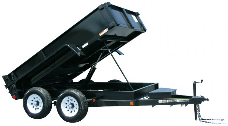 2021 Carry-On 6X10 DUMP LP 10K Dump Trailer w/ RAMPS & TARP