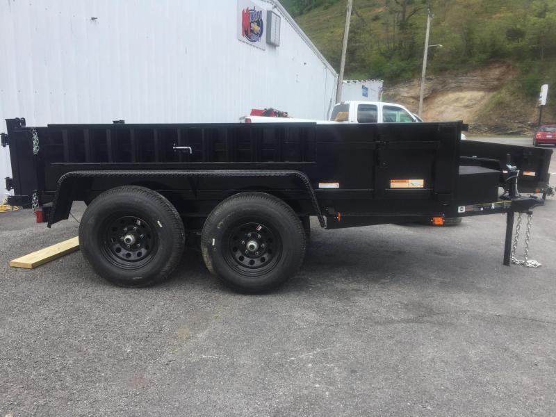 2021 Carry-On 6X10 DUMP LP 10K Dump Trailer w/ RAMPS & TARP