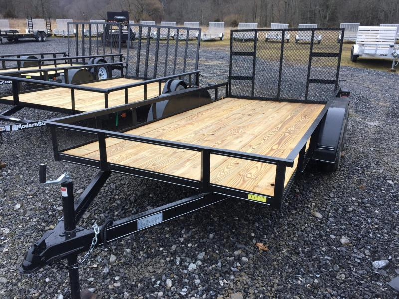 2021 Other 14' Tandom Axle Utility Trailer