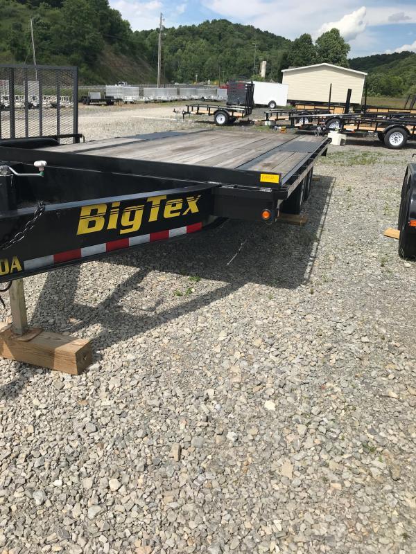 2015 Big Tex Trailers 100A 18X8 Equipment Trailer