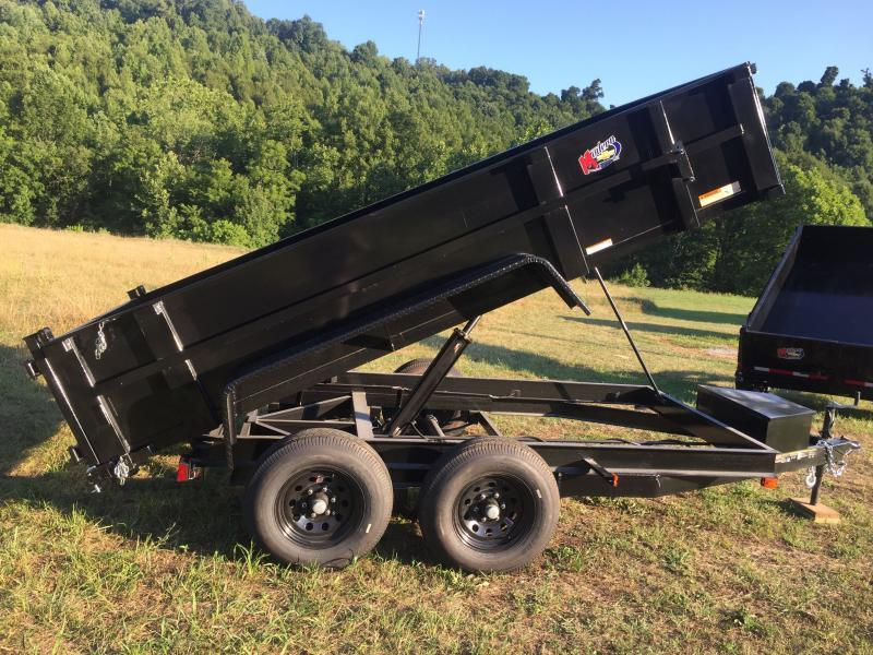 2021 Carry-On 6X12DUMPLP10K-24HS Dump Trailer