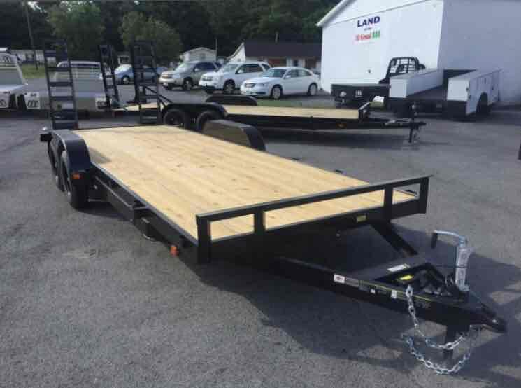 2020 Carry-On 7X20APFTFR2BRK Equipment Trailer