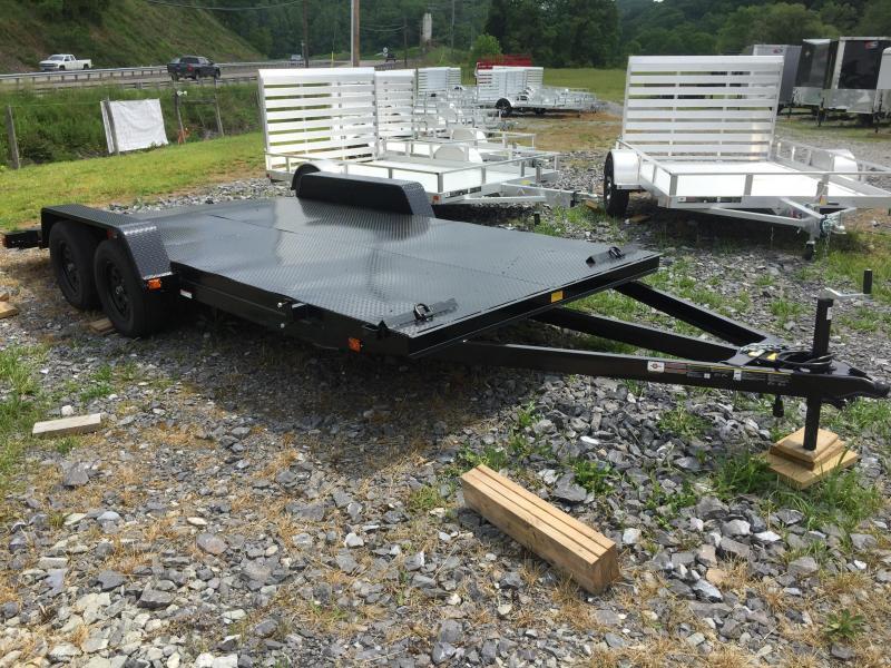 2020 Carry-On 7x18SF2BRK steel floor 2 brake
