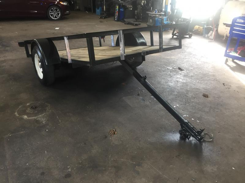 2007 P and T Trailers 5X10STT Tilt Utility Trailer