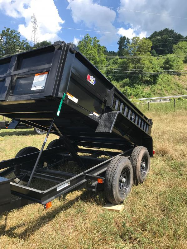 2021 Carry-On 6X10DUMPLP10K-24HS Dump Trailer