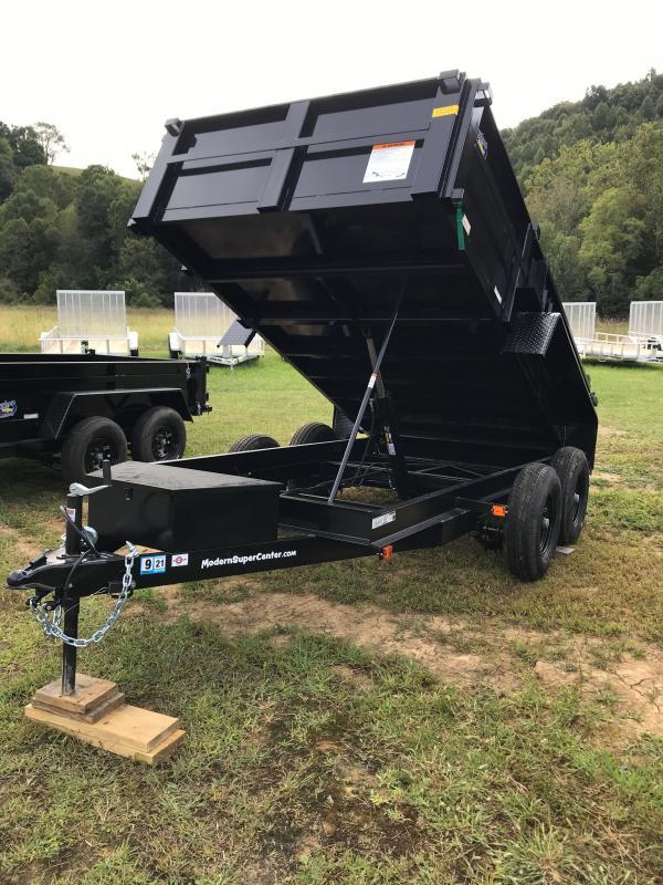 2020 Carry-On 6X12DUMPLP10K-24HS Dump Trailer