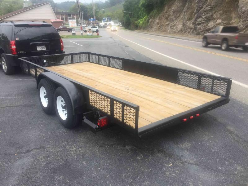 2010 Other 7X16 YEAR UNKNOWN Utility Trailer