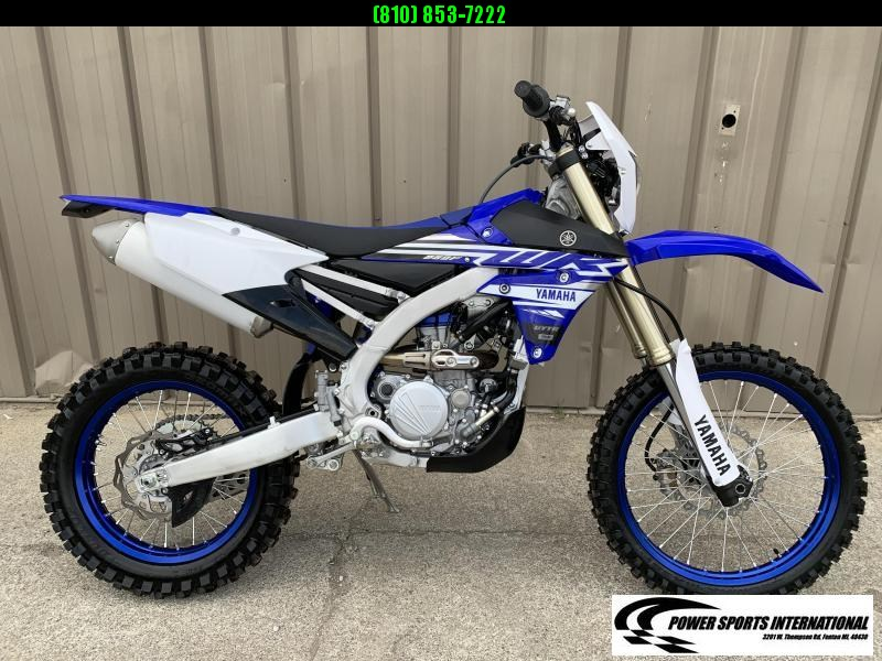 2019 YAMAHA WR250F TEAM EDITION BLUE ENDURO MOTORCYCLE OFF ROAD WOODS #0554