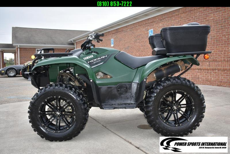 2019 YAMAHA KODIAK 700 4WD HUNTER GREEN AUTOMATIC 4WD UTILITY ATV #1697