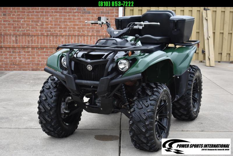 2019 YAMAHA KODIAK 700 4WD HUNTER GREEN AUTOMATIC 4WD UTILITY ATV #1697