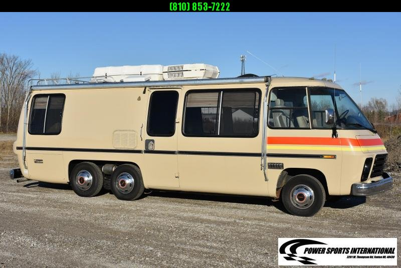 1973 GMC CANYON LANDS VINTAGE MOTORHOME 26' RV Motorhome Luxury VINTAGE 455 V8 Big Block #1378
