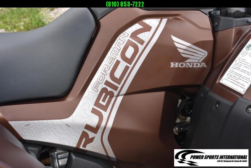 2020 HONDA TRX520FM6 FOREMAN RUBICON (4X4 ELECTRONIC POWER STEERING) ATV #0478