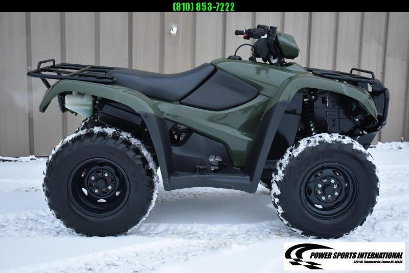 2013 HONDA TRX500FPMD FT FOREMAN EPS HUNTER GREEN 4X4 ATV #2777