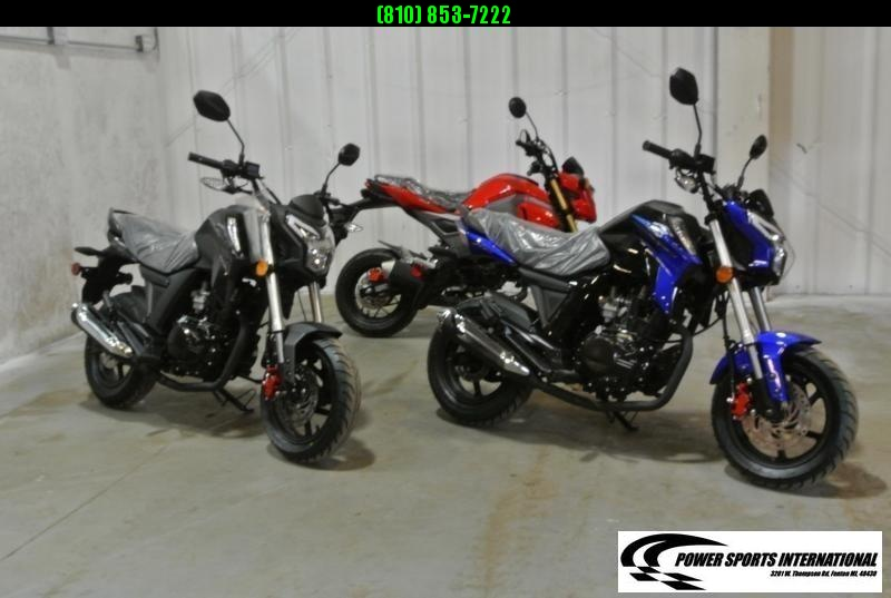 2021 LIFAN KP MINI 150 E-Start Motorcycle 60+mph GROM KILLER BLACK #0117