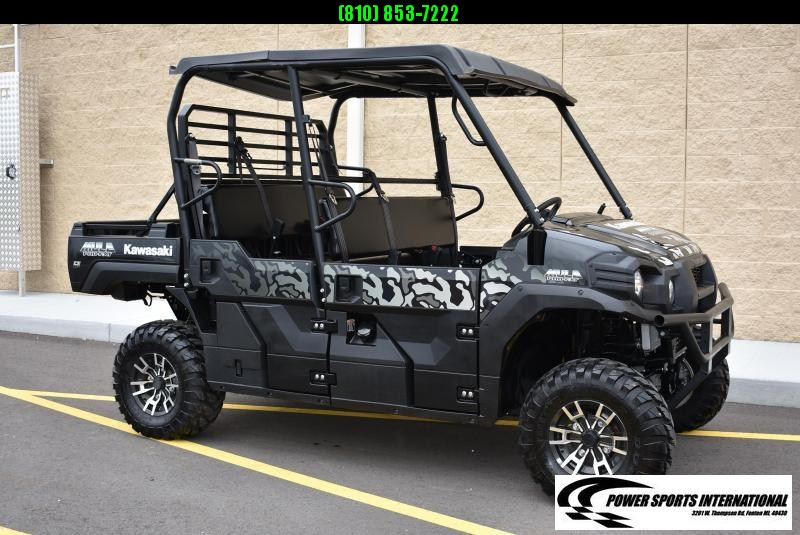 2018 KAWASAKI KAF820CHF MULE PRO FXT EPS LIMITED EDITION BLACK DIGITAL CAMO EPS 4X4 Side by Side NICE! #0995