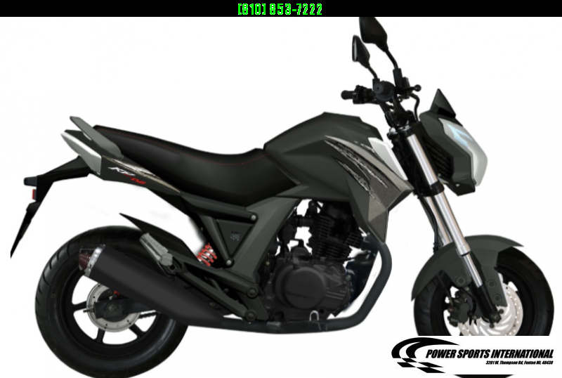 2021 LIFAN KP MINI 150 E-Start Motorcycle 60+mph GROM KILLER BLACK #0112