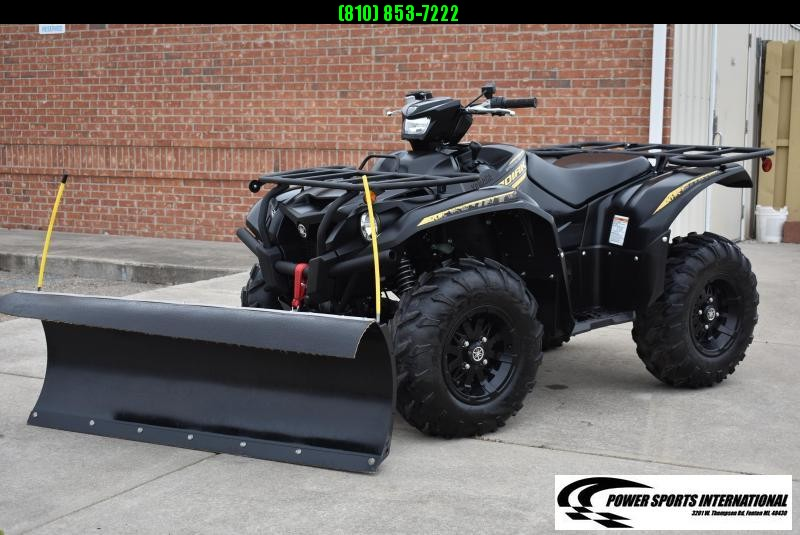 2020 YAMAHA KODIAK 700 EPS SPECIAL EDITION BLACK w/ SNOWPLOW AUTOMATIC 4WD UTILITY ATV #2772