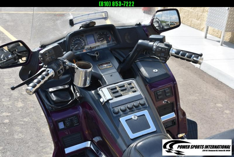 1996 HONDA GL1500SE1T GOLDWING SPECIAL EDITION MOTORCYCLE CRUISE #0180