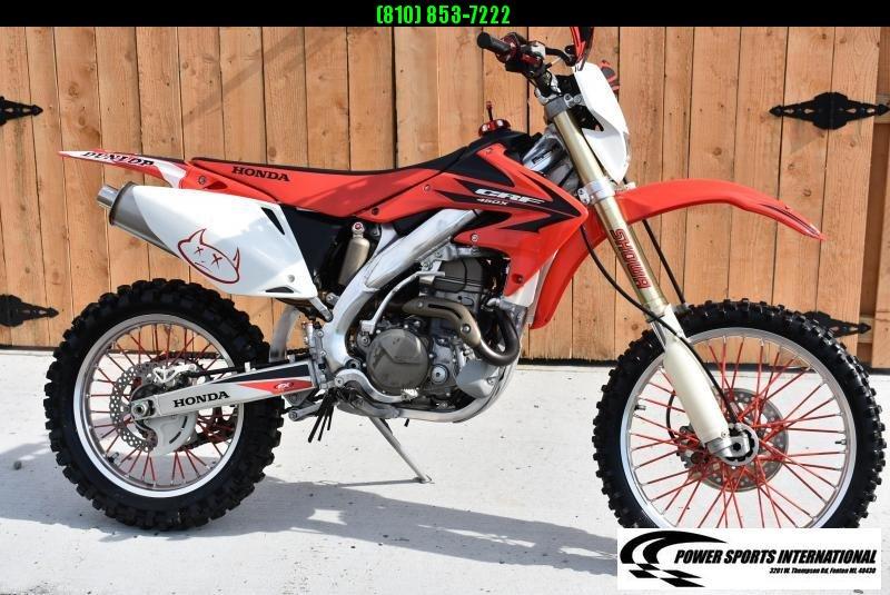2006 HONDA CRF450X 4-Stroke MX Off Road Enduro Motorcycle #0477