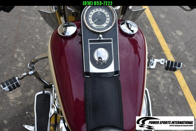 2007 HARLEY DAVIDSON FLSTN SOFTTAIL DELUXE CRUISER TOURING MOTORCYCLE MINT!