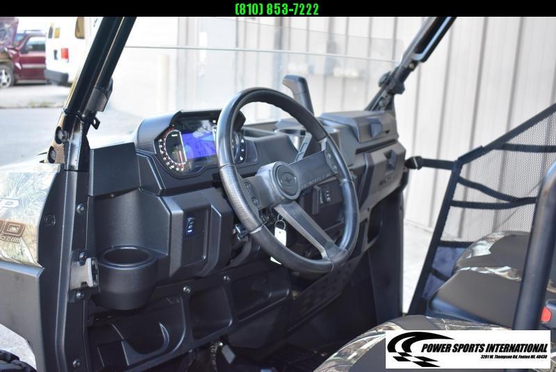 2019 POLARIS RANGER CREW 6 Seat XP 1000 EPS CAMOUFLAGE UTILITY UTV 0762