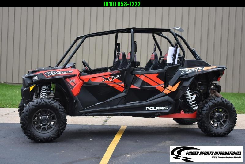 2017 POLARIS RZR XP 4 1000 TURBO (ELECTRIC POWER STEERING) 4-SEATER #6951