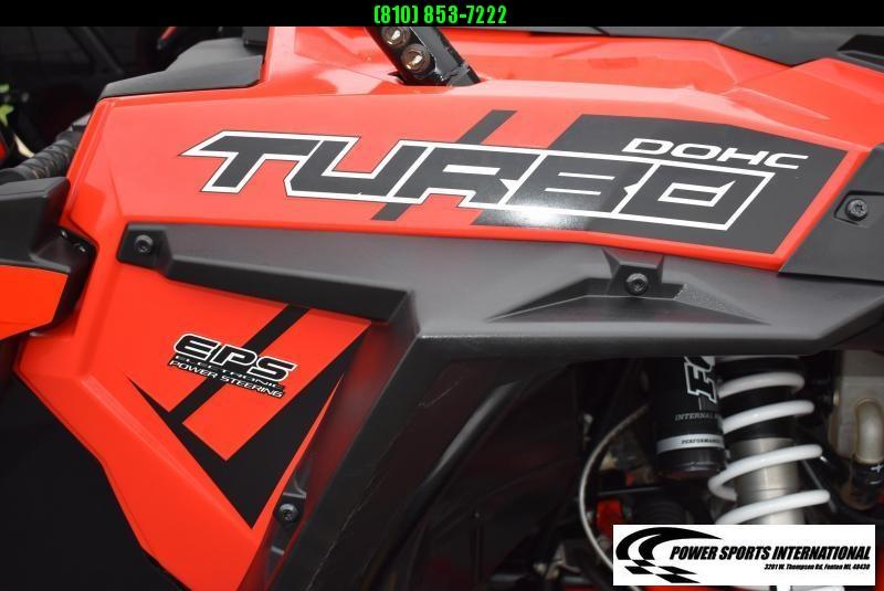 2017 POLARIS RZR XP 4 1000 TURBO (ELECTRIC POWER STEERING) 4-SEATER #6951