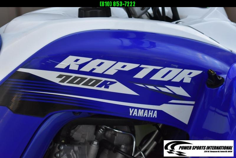 2018 Yamaha Raptor 700R Team Blue and White Team Edition Sport ATV Quad #0776
