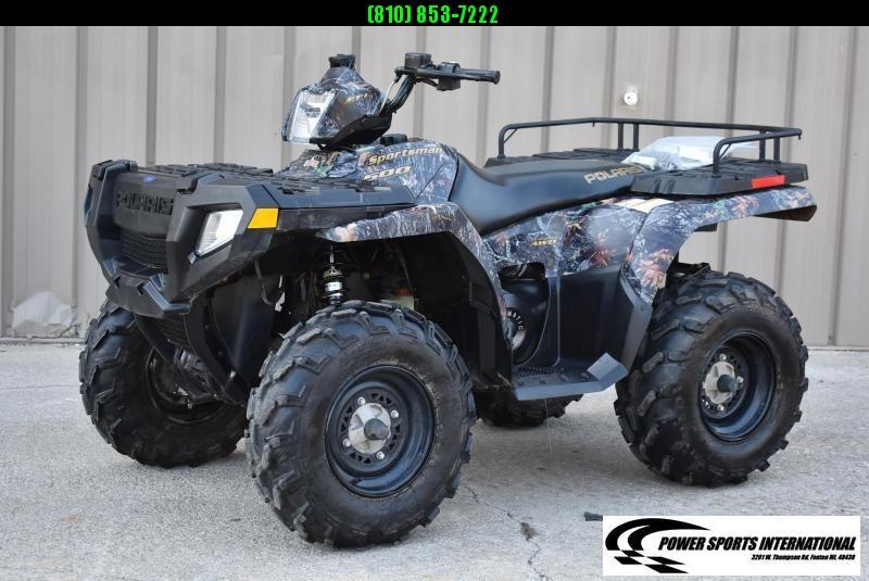 2006 POLARIS SPORTSMAN 500 H.O. CAMO 4X4 ATV #2043