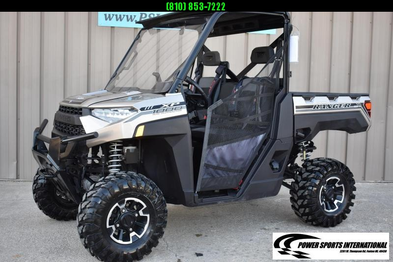 2018 POLARIS RANGER XP 1000 EPS Silver Metallic EDITION  #5142